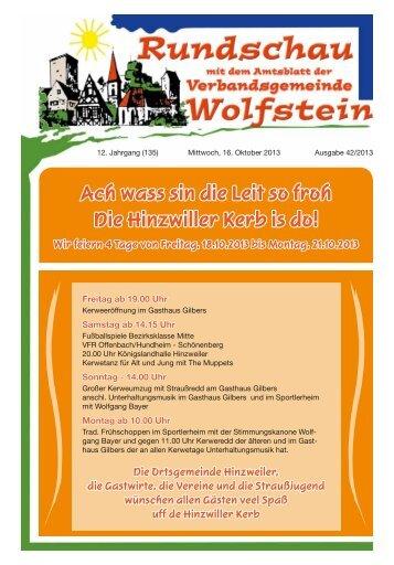 KW 42 - Verbandsgemeinde Wolfstein
