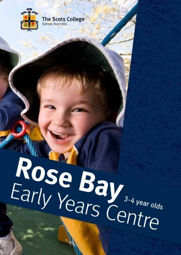 3-4 year olds - The Scots College