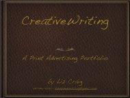 by Liz Craig A Print Advertising Portfolio - Kansas City Freelance ...