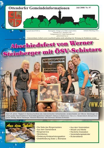 Juli 2008 / Nr. 97 - Ottendorf an der Rittschein