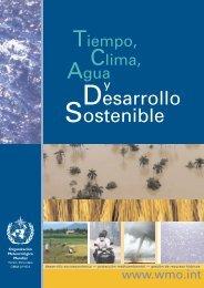 Tiempo, clima, agua y desarrollo sostenible - E-Library - WMO