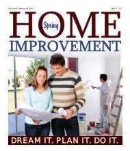 2012 Spring Home Improvement - Advertiser Community News