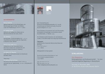 Einladung/Programm ansehen (PDF) - Deutschen ...