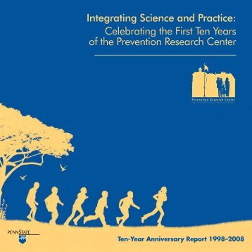 Integrating Science and Practice - Prevention Research Center