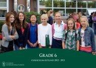 Curriculum outlines for grade 6 - St. John's International School