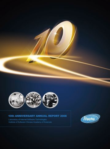 iTechs Annual Report 2008 - Laboratory for Internet Software ...