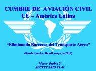 Marco Ospina - Comisión Latinoamericana de Aviación Civil - ICAO