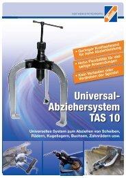 Universal- Abziehersystem TAS 10 - Technolit