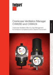 Crankcase Ventilation Manager CVM280 and CVM424