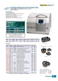 Centrífuga Refrigerada de alta velocidad 3-30K