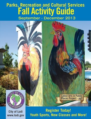 Fall Activity Guide - the City of Lodi