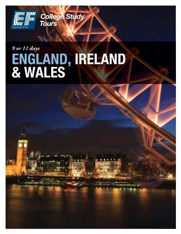 ENGLAND, IRELAND & WALES - EF College Study Tours