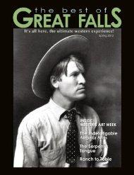 Augusta Ariss - The Best of Great Falls Magazine