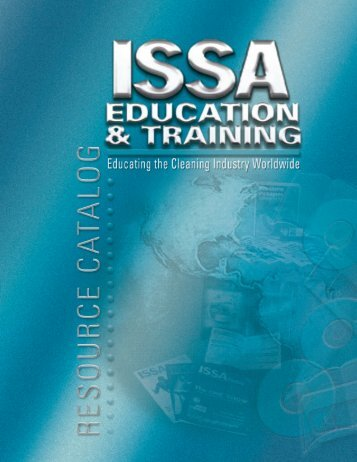 Table of Contents - ISSA.com