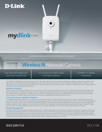 Wireless Nnetwork Camera