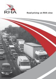 Road Pricing 2007 - Road Haulage Association