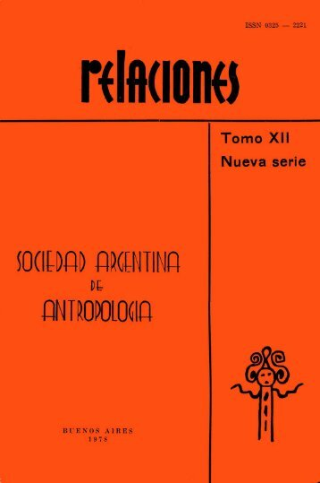 Descargar PDF (990kb) - Sociedad Argentina de Antropología