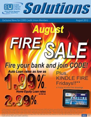 Fire your bank and join CODE! - CODE Credit Union