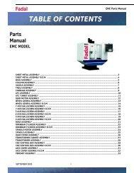 EMC Parts List - Compumachine