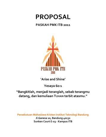 2011 04 04 - Proposal Paskah 2011