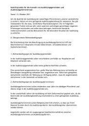 Gesichtspunkte für die Auswahl von ... - vuv-wue.de