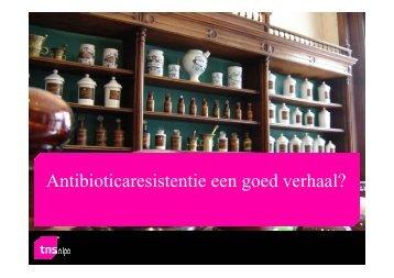 Antibioticaresistentie een goed verhaal? - SWAB