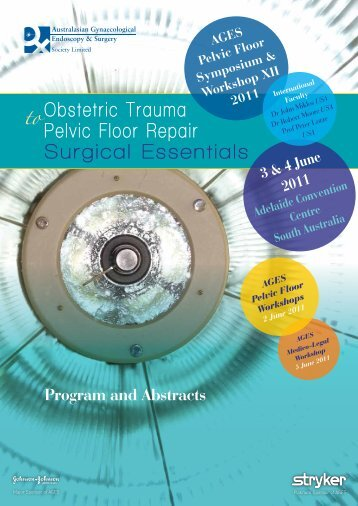 to Obstetric Trauma Pelvic Floor Repair Surgical Essentials - AGES