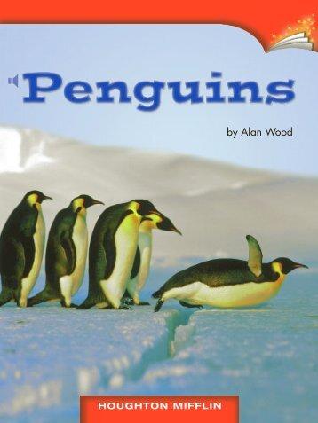 Lesson 21:Penguins