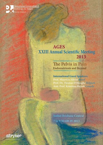 AGES XXIII Annual Scientific Meeting 2013