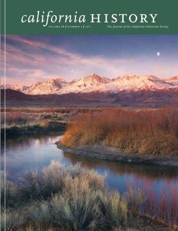 california history - California Historical Society