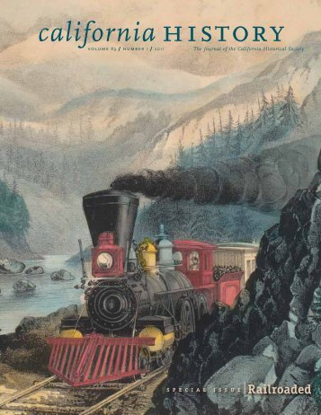 Volume 89, Number 1 - California Historical Society
