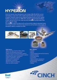 MIL-DTL-83526 contact technology - Cinch Connectors