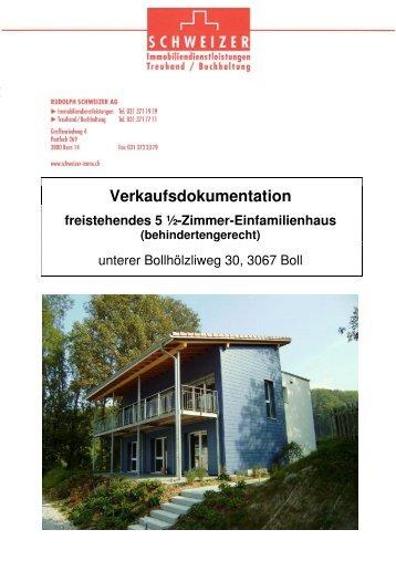 Verkaufsdokumentation freistehendes 5 ½-Zimmer ... - Homegate.ch