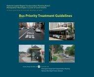 Draft Bus Priority Treatment Guidelines - Metropolitan Washington ...