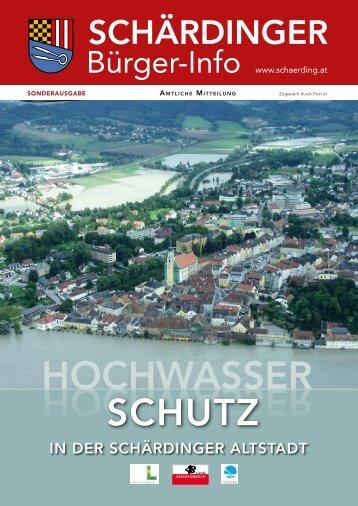 Bürgerinfo Ausgabe Hochwasser - Schärding - Land Oberösterreich