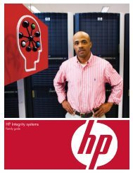 HP Integrity systems - Family guide - Netstar Corporation