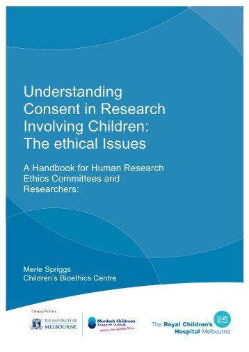 Understanding Consent in Research Involving Children - Murdoch ...