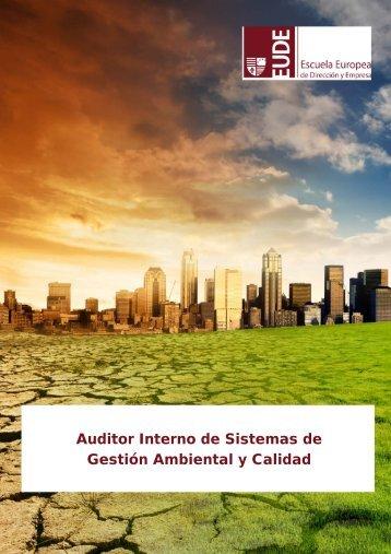 Auditor Interno de Sistemas de Gestión Ambiental y Calidad - CDAM