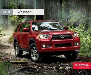 2010 4Runner - Toyota Canada