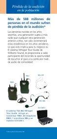 sistema para guías de turistas - Williams Sound - Page 5