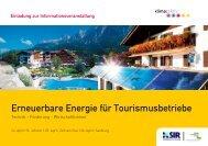 Erneuerbare Energie - bauen innovativ