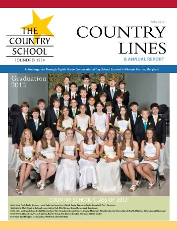 2011-12 Donor Report - The Country School