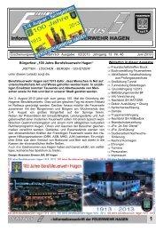 Erscheinungsweise: vierteljährlich Ausgabe: 02/2013 Jahrgang 13 ...