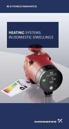 Heating systems in domestic dwellings