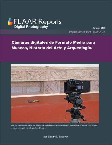 Cámaras digitales de Formato Medio para Museos, Historia del Arte ...