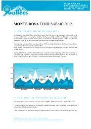 MONTE ROSA TOUR SAFARI 2012 - Ski Safari 9 vallées