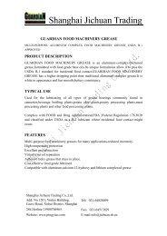 Guardian Food Machinery Grease#0,#2 PDF Download