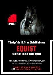 Türkiye'nin ilk At ve Binicilik Fuarı 13 Nisan Cuma günü ... - Liderform