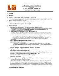 Agenda and papers for Meeting 14 October at LGMA - LGMA (SA)