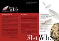 WbS 2007 Announcement and Call for Abstracts - Pacific Seabird ...